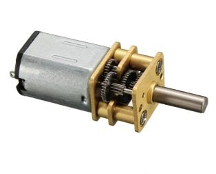 N20-3V-500 Rpm Micro Metal Gear-box DC Motor