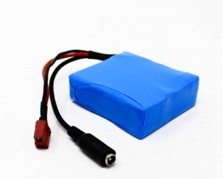 18650 Li-ion 2000mAh 11.1v 3S Protected Battery Pack