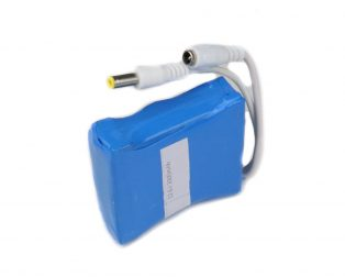 18650 Li-ion 2000mAh 11.1v 3S1P Protected Battery Pack