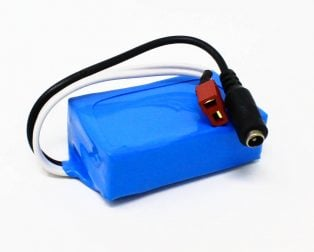 18650 Li-ion 2000mAh 7.4v 2S1P Protected Battery Pack