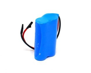 18650 Li-ion 2000mAh 7.4v 2S1P Protected Battery Pack-1c