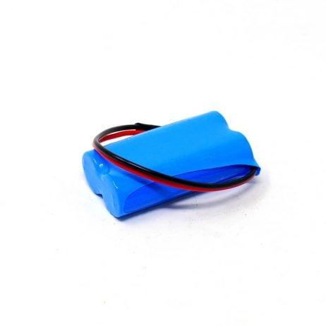 18650 Li-ion 2000mAh 7.4v 2S1P Protected Battery Pack-1c