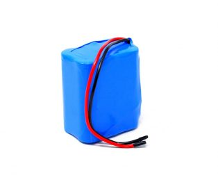 18650 Li-ion 4000mAh 11.1v 3S2P Protected Battery Pack-1c