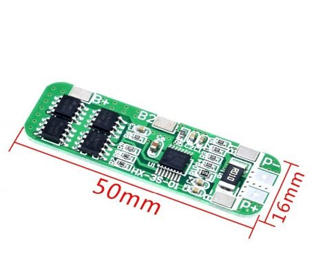 3S 6A Li-ion 18650 Charger Protection Board