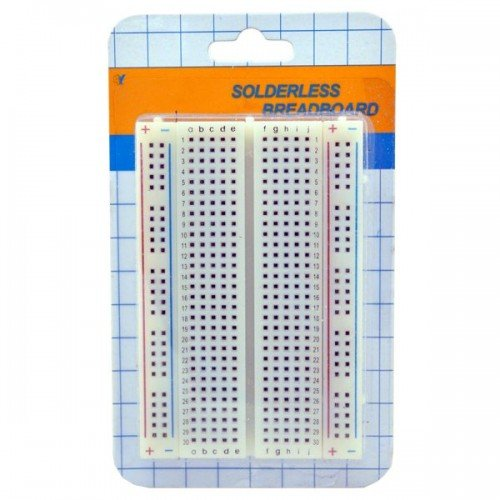 400 Tie Points Contacts Mini Circuit Experiment Solderless Breadboard