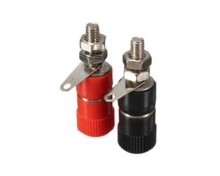4mm Banana Socket Binding Post Nut Banana Plug Jack Connector
