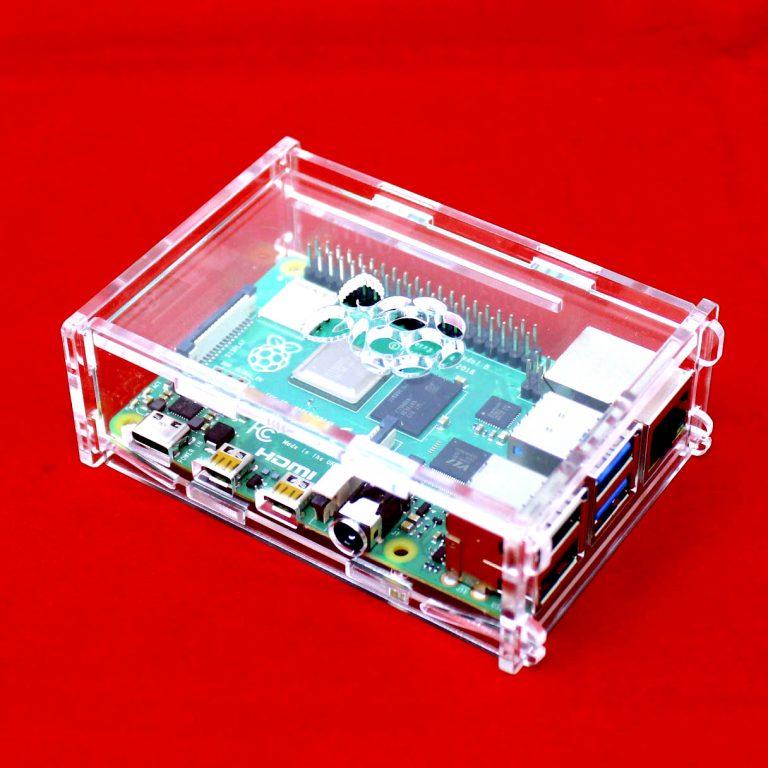 Acrylic Case for Raspberry PI 4B