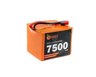 Orange 18650 Li-ion 7500mAh 14.8v 4S3P Protected Battery Pack-3c