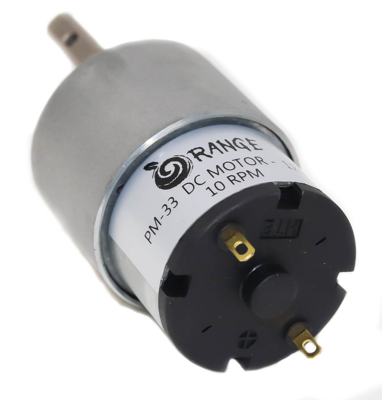 Orange PM33 12v 10RPM DC motor for DIY projects