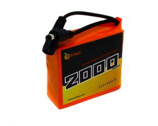 18650 Li-ion 2000mAh 11.1v 3S1P Protected Battery Pack-1c