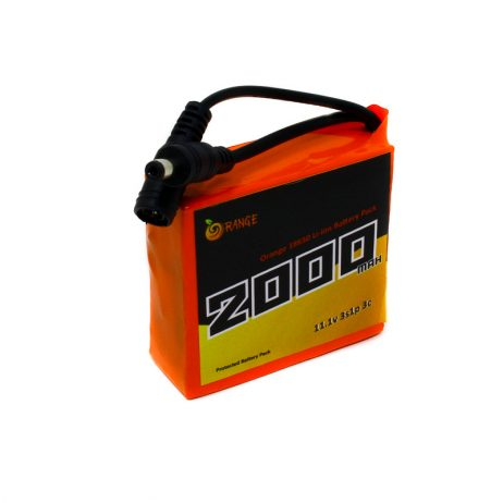 18650 Li-ion 2000mAh 11.1v 3S1P Protected Battery Pack-1c