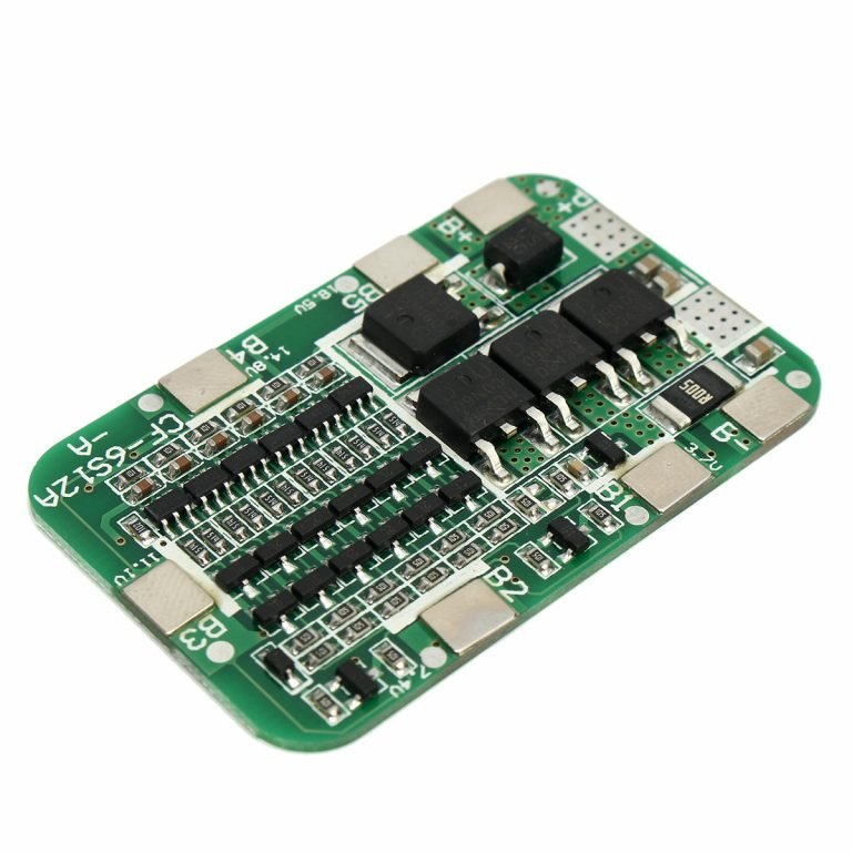PCB BMS 6 Series 22V 18650 Lithium Battery Protection Board