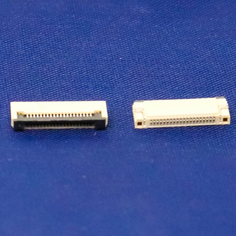 0.5mm Pitch 20 Pin FPC\FFC SMT Flip Connector