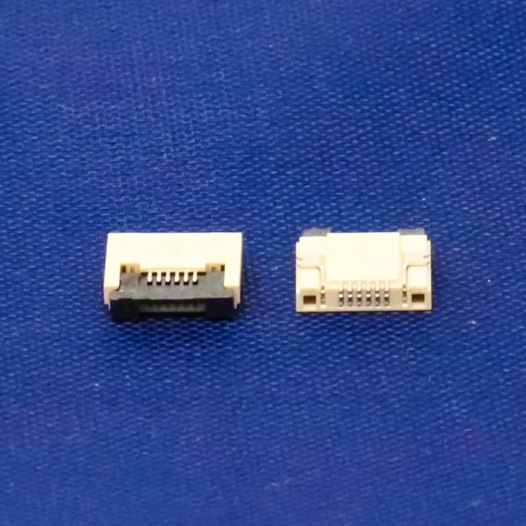 0.5mm Pitch 6 Pin FPC\FFC SMT Flip Connector
