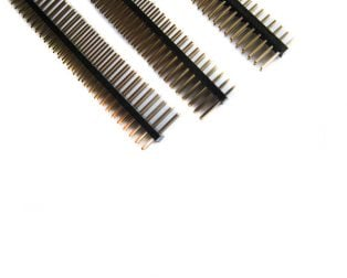 1.27 mm 2x40 Pin Male double Row Header Strip