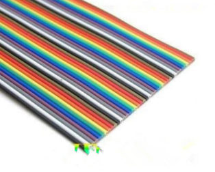 1.27mm 26AWG Pure Copper 40pin Dupont Wire-ROBU.IN