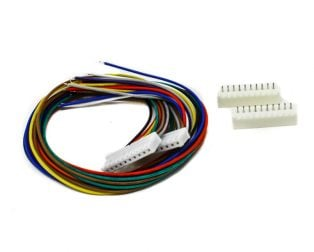 10 Pin JST XH 2.54mm Pitch Plug and Socket with Cable