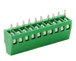 10 Pin Pluggable Screw Terminal Block