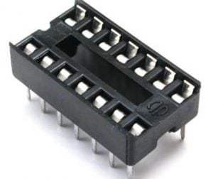 16 Pin DIP IC Socket Base Adaptor