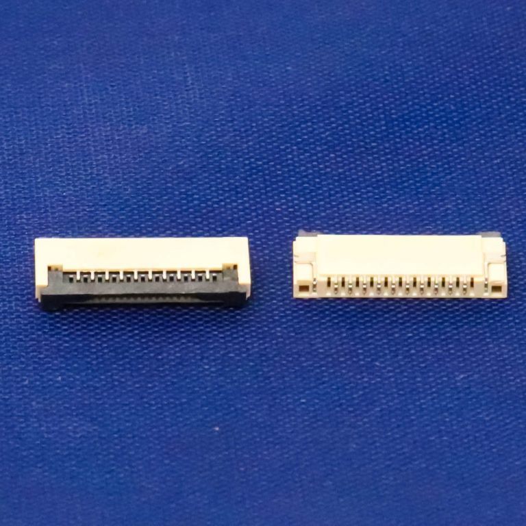 1mm Pitch 10 Pin FPC\FFC SMT Flip Connector