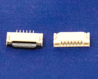 1mm Pitch 6 Pin FPC\FFC SMT Flip Connector