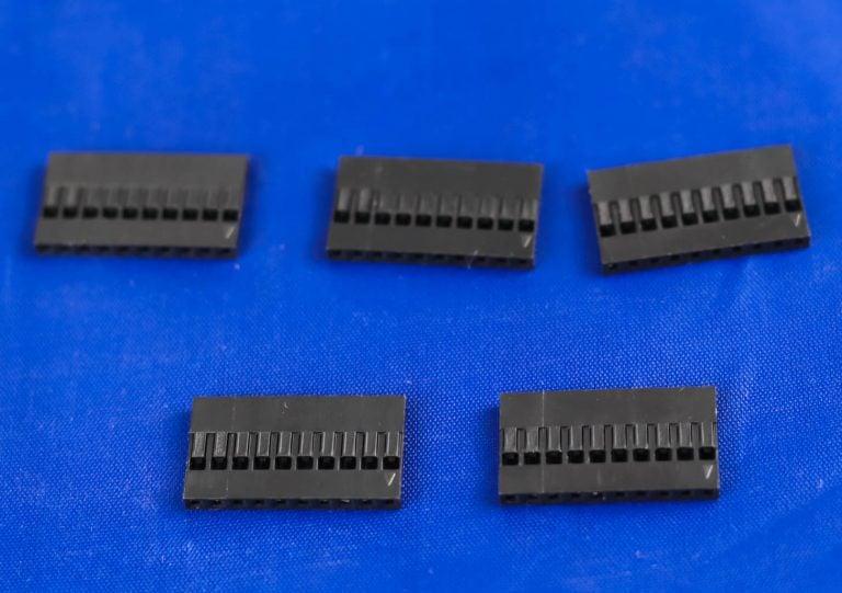 1x10 Pin Male-Female Crimp Connector
