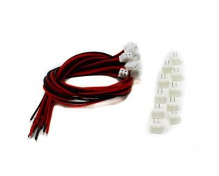 2 Pin JST XH 2.54mm Pitch Plug and Socket with Cable