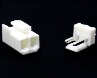 2 Pins 2.54mm JST-XH Connector With Housing