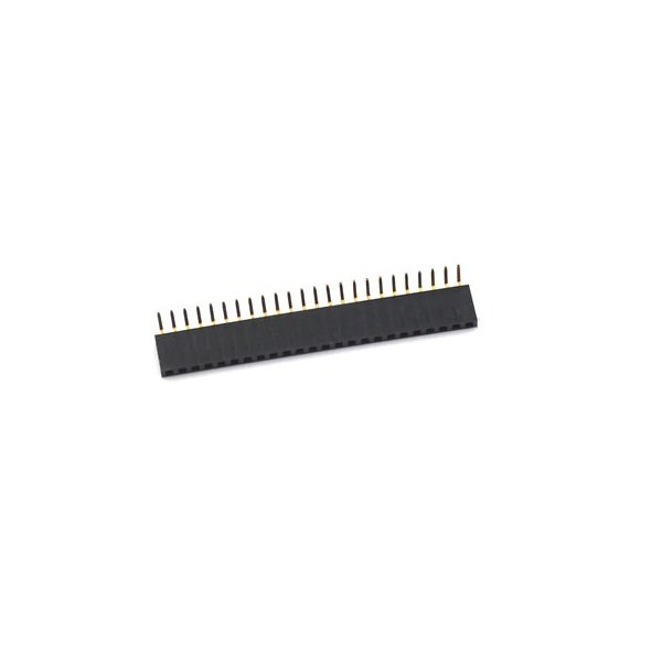 2.54mm 1x20 Right Angle Female Header Strip
