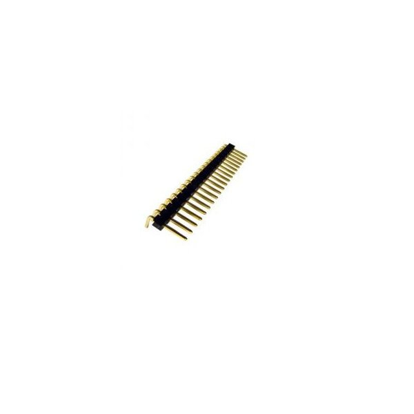 2.54mm 1x20 Right Angle Male Header Strip