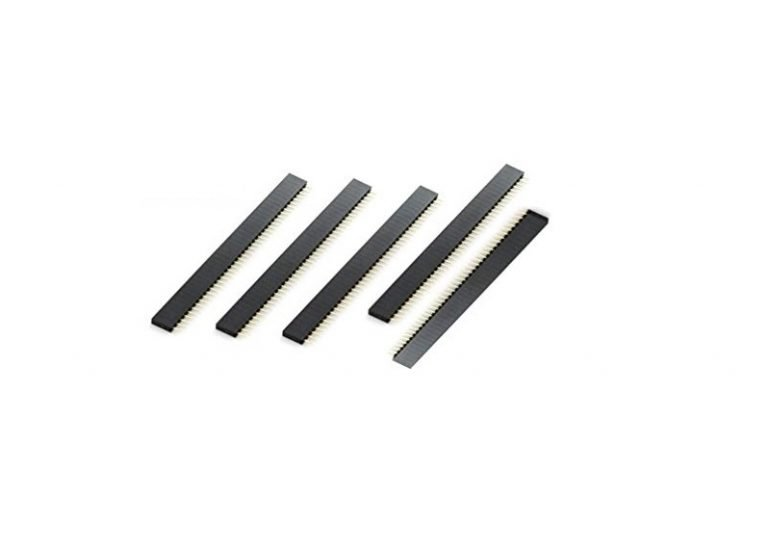 2.54mm 1x40 Pin Female Single Row Through-hole Header Strip