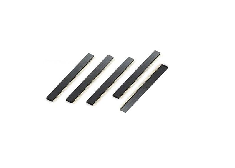 2.54mm 1x40 Pin Female Single Row Through-hole Header Strip