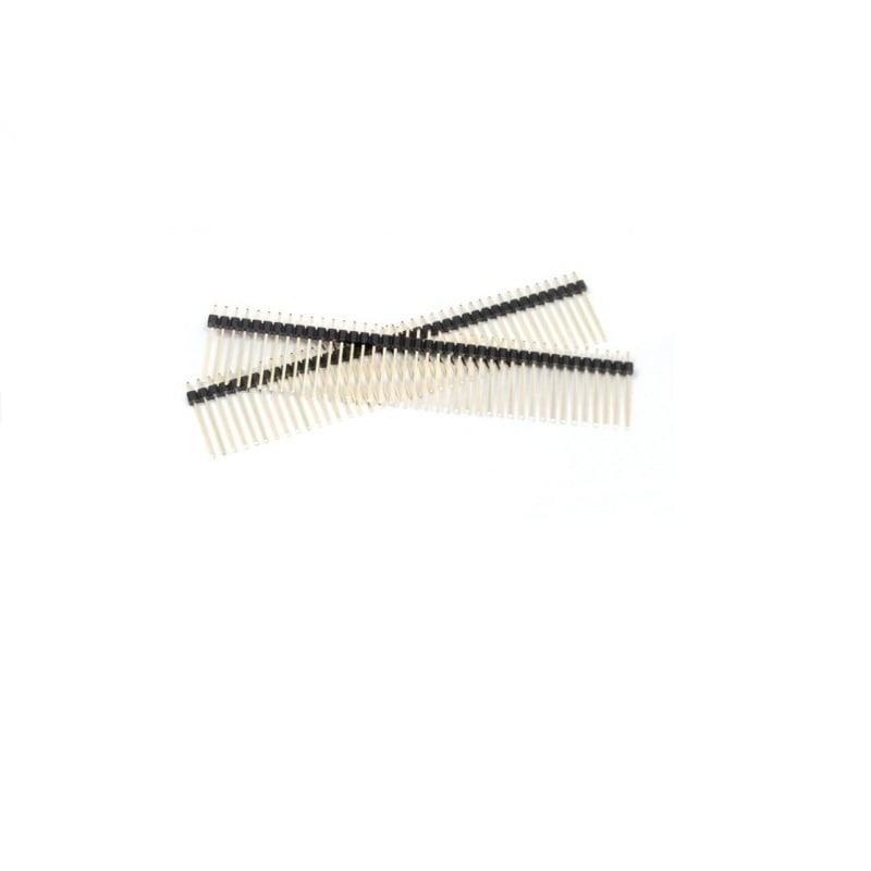 2.54mm 1x40 Pin Male Single Row Straight Long Header Strip