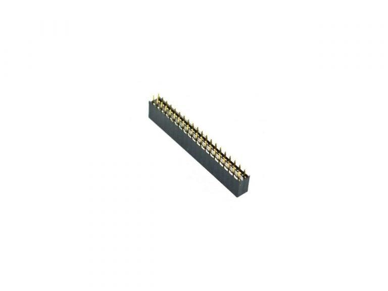 2.54mm 2x20 Pin Female Double Row Header Strip