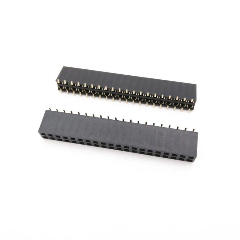 2.54mm 2x20 Pin Female Double Row SMT Header Strip