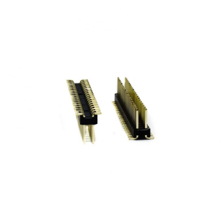 2.54mm 2x20 Pin Male Double Row SMT Header Strip