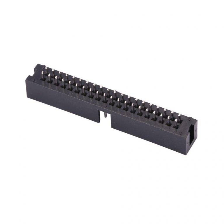 2.54mm DC3 40 Pin Straight Male IDC Socket