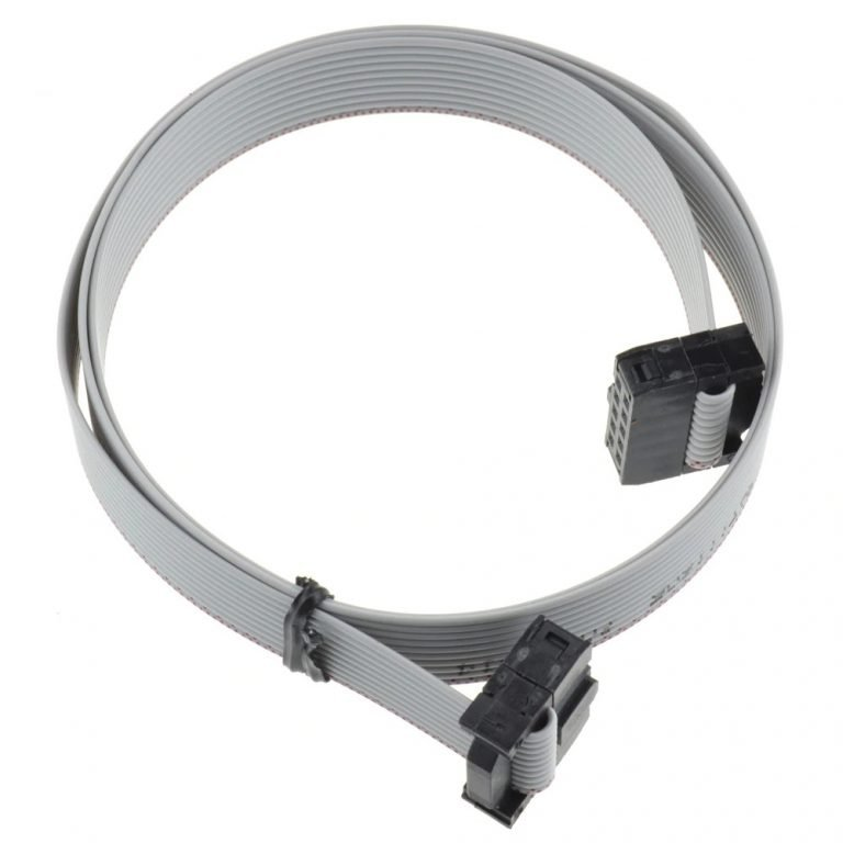 2.54mm Pitch 10 Pin JTAG ISP AVR Cable