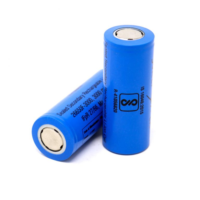 26650 3.2V Rechargeable 3000mAh LifePO4 Battery