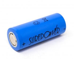 26650 3.2V Rechargeable 3000mAh LifePO4 Battery