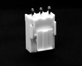 3 Pins 2.54mm JST-XH Connector With Housing