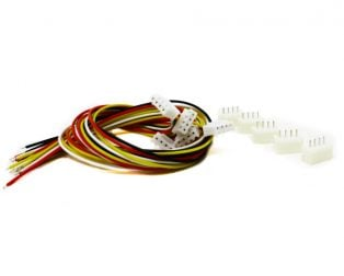 4 Pin JST XH 2.54mm Pitch Plug and Socket with Cable