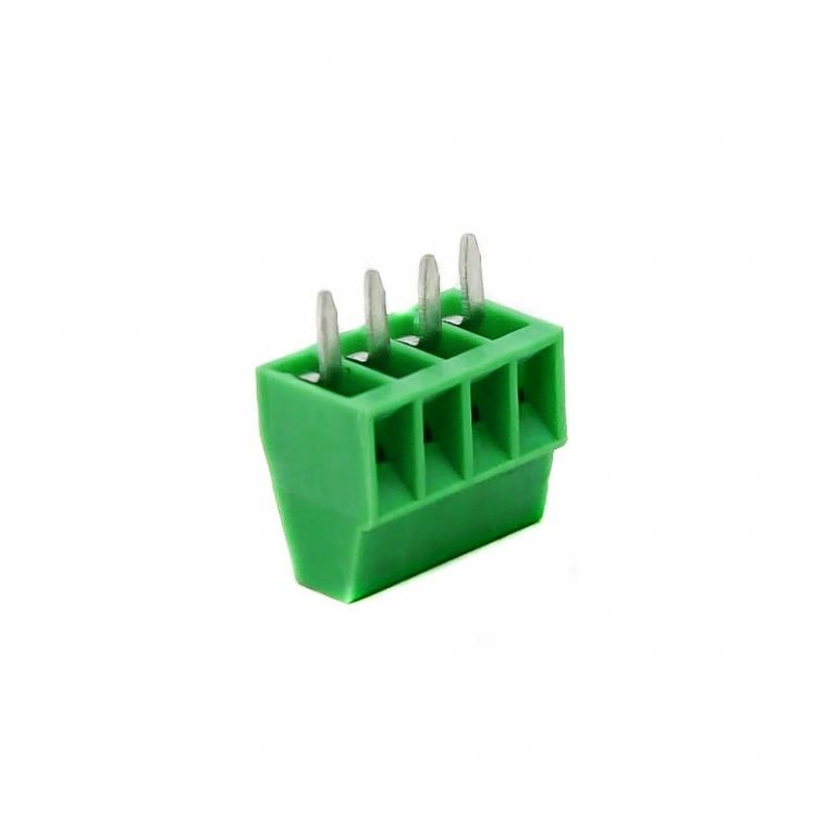 4 Pin Pluggable Screw Terminal Block