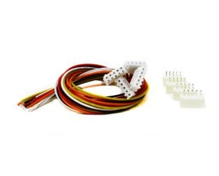 5 Pin JST XH 2.54mm Pitch Plug and Socket with Cable