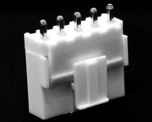 5 Pins 2.54mm JST-XH Connector With Housing