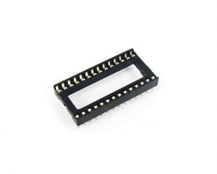 28 Pin Wide DIP IC Socket Base Adaptor