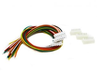 6 Pin JST XH 2.54mm Pitch Plug and Socket with Cable
