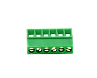 6 Pin Pluggable Screw Terminal Block