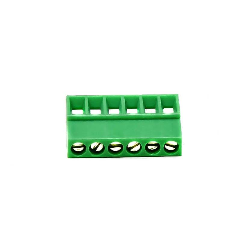 6 Pin Pluggable Screw Terminal Block