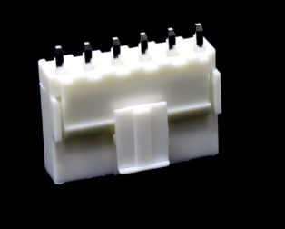 6 Pins 2.54mm JST-XH Connector With Housing